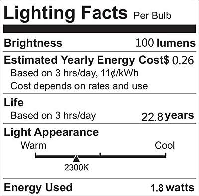 Texsens LED Flame Effect Light Bulb, E26 LED Flickering Flame Light Bulbs, 105pcs 2835 LED Beads Simulated Decorative Light Atmosphere Lighting Vintage Flaming Light Bulb for Bar/ Festival Decoration