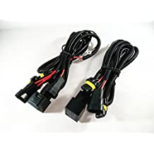 2x HID Conversion Kit Single Beam Relay Wiring Harness Universal H1 H3 H7 H8 H9 H10 H11 9005 HB3 9006 HB4 880 881 5202 9140 9145