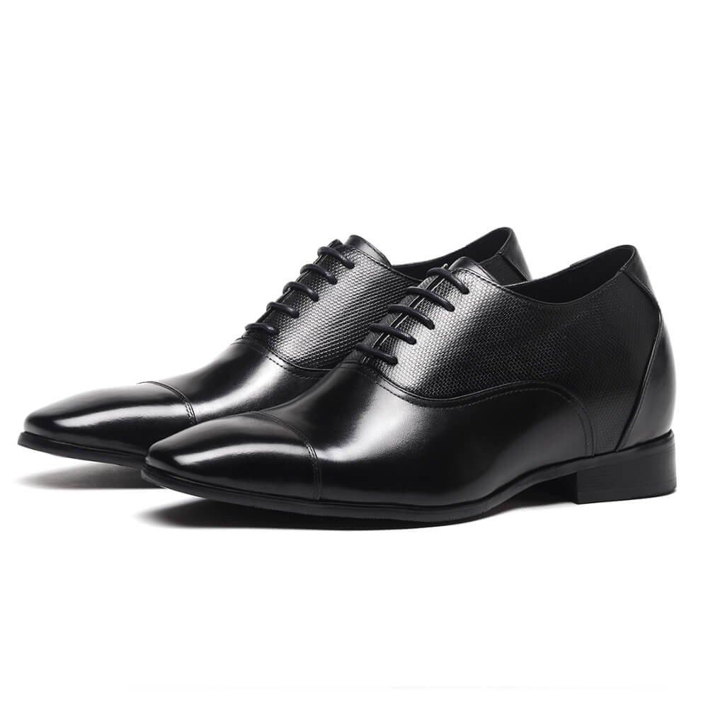 CHAMARIPA Height Increasing Elevator Shoes 2.96'' Taller Men Tuxedo Dress Oxford Shoes K4022 10 D(M) US by CHAMARIPA (Image #2)