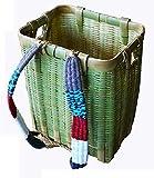 竹背負い籠 角大 縦40×横31×高さ46cm