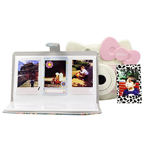 FORUSKY 96 Pockets Mini Instant Photo Storage Album Book for Instax Mini 7s 8 8+ 9 25 26 50s 70 90 Film,Leica Sofort,Lomo Mini Camera - Pink