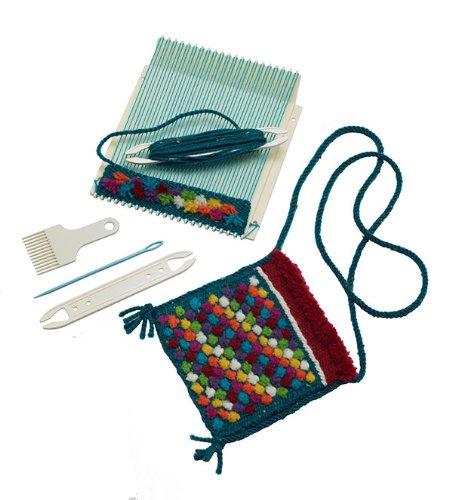 (Schacht Mini Loom Weaving Kit 8)