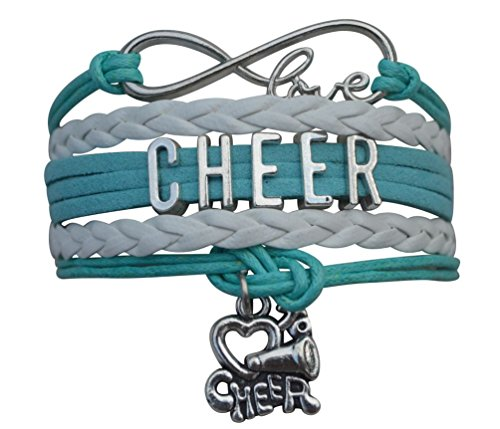 Infinity Collection Cheer Bracelet- Cheerleading Bracelet- Cheer Jewelry for -