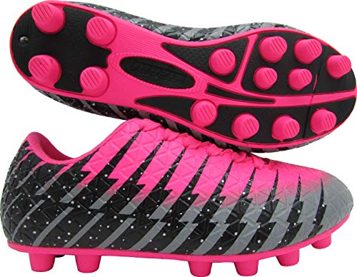 Girl cleats pink