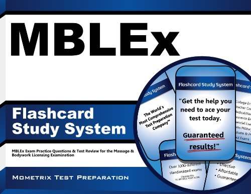 MBLEx Flashcard Study System: MBLEx Exam Practice Questions & Test Review for the Massage & Bodywork Licensing Examination (Cards) (Best Mblex Study Guide)