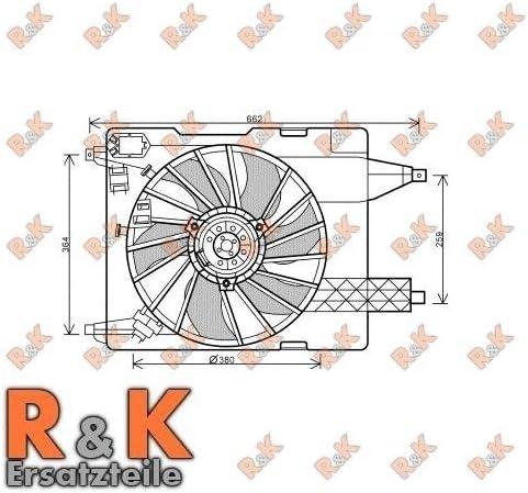 Prasco rT7539 ventilateur de refroidissement