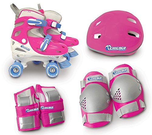 Chicago Girls Quad Roller Skate Combo, Small