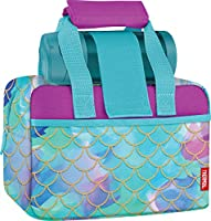 Thermos Funtainer Bottle & Duffle Combo Set, 9.25 x 5 x 6.2, Mermaid