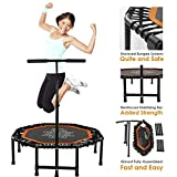 "Best Fitness Trampolines - Xspec 44"" Fitness Trampoline 