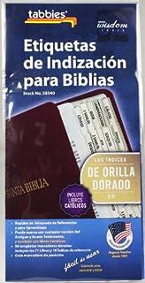 Etiquetas De Indizacion Para Biblias