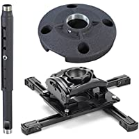Chief KITQD0305 Projector Mount Kit, Includes RPMAU Elite Universal Projector Mount, CMS0305 3-5 Adjustable Extension Column, CMS115 6 (152 Mm) Speed-connect Ceiling Plate