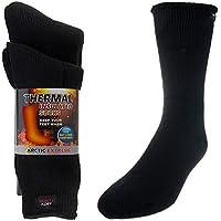 2pares de calor grueso trapping climatizada calcetines térmicos de arranque Pack Cálido Invierno Crew con aislamiento para clima frío