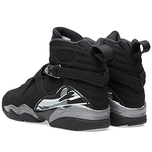 Nike Air Jordan Herren 8 Retro Basketballschuh Schwarz / Weiß / Lt Graphit