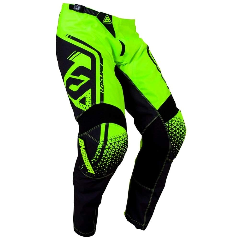 36 Answer Racing A19 Syncron Flow Mens Off-Road Motorcycle Pants Hyper Acid//Midnight//Astana