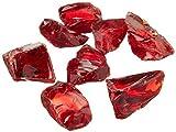 Dragon Glass 10 lb. Medium Red Landscape Glass 1/2