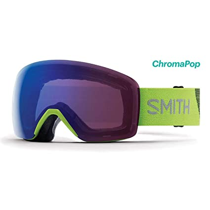 f3b7778e1ac23 Image Unavailable. Image not available for. Color  Smith Optics 2019 Men s  Skyline Asian Fit Ski Goggle - Flash Frame ChromaPop Photochromic Rose