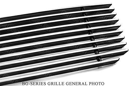 GrillCraft TOY1951-BAC BG Series Grille Upper Insert Aluminum Billet Style Hi Luster Polished Aluminum Finish BG Series Grille Upper Insert