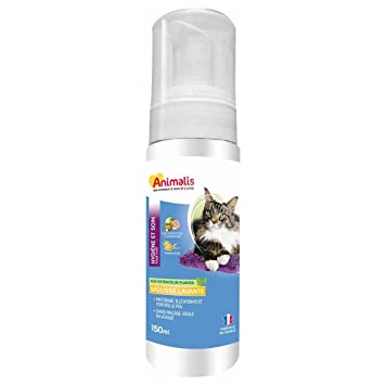 Animalis Espuma Lavante para Gatos 150 ML: Amazon.es: Productos para mascotas