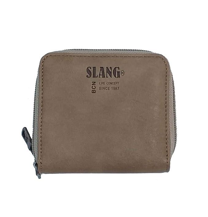 Billetera Mujer Slang EFY7 Elastic FOR You Beige: Amazon.es ...