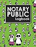 Notary Public Logbook: Notarial Journal, Notary