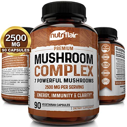 NutriFlair Mushroom Supplement 2500mg