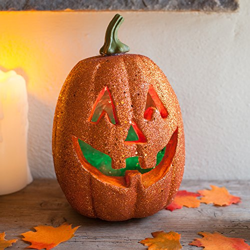 (Colour Changing LED Battery Operated Halloween Pumpkin Light Party)