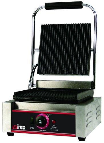 Winco EPG-1 Italian Style Panini Grill, electric, countertop single by Winco