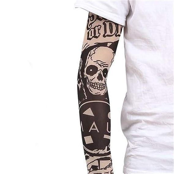 Yanluzz - Manga de tatuaje para mujer con protector solar para el ...