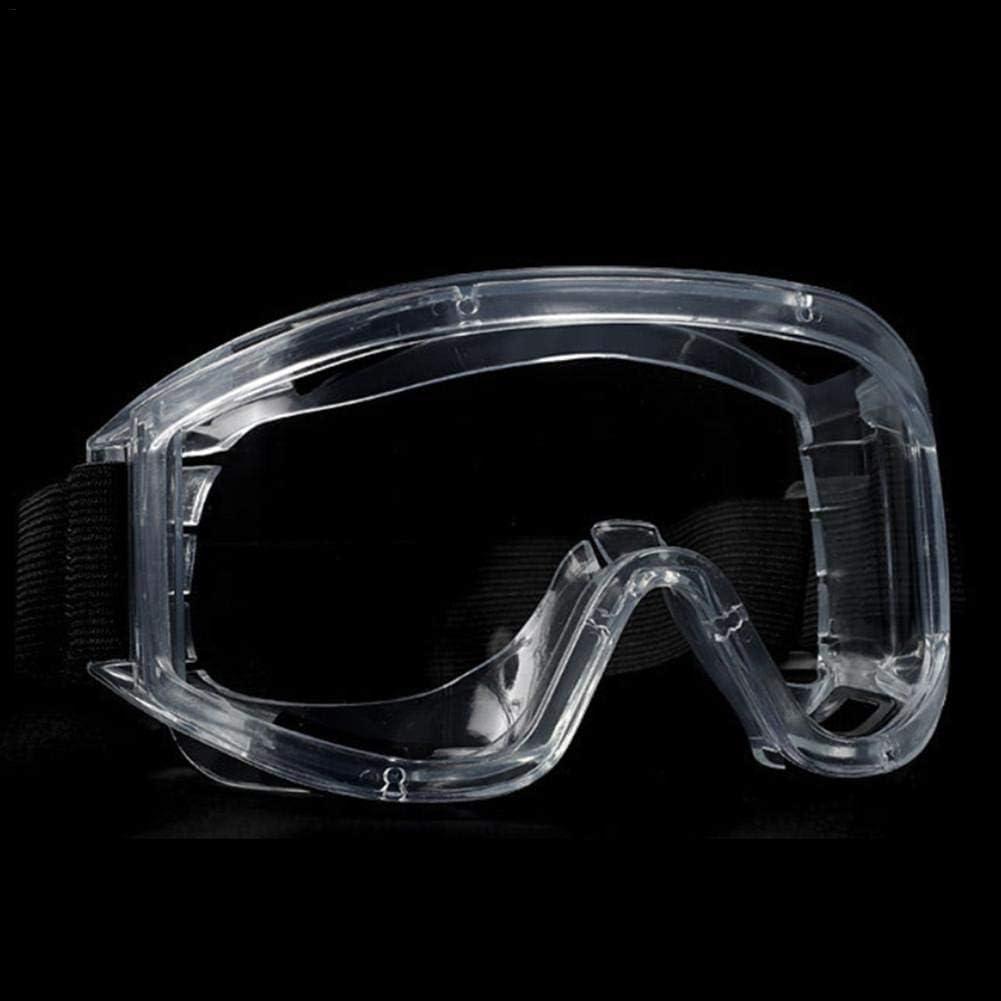 Gafas protectoras de seguridad, protección contra salpicaduras de polvo antiniebla Gafas de seguridad con resistencia a los rayos UV para actividades al aire libre, construcción