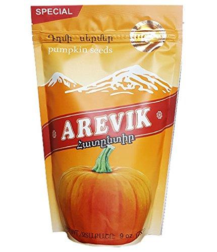 Roasted Pumpkin Seeds Salted Arevik (9 Ounce/250 Gr) Kosher
