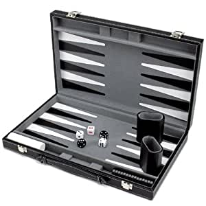 Amazon.com: Brybelly Deluxe – Carcasa rígida de Backgammon ...