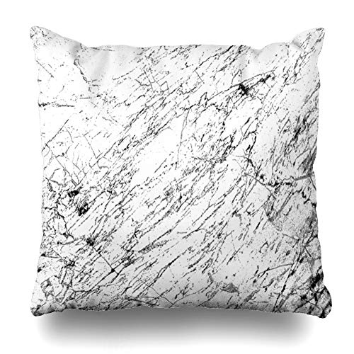 Ahawoso Throw Pillow Cover Group Cracks Urban Dust Overlay Distress Grain Simply Grungy Place Over Any to Create Effect Design Zippered Pillowcase Square Size 16 x 16 Inches Home Decor Cushion Case