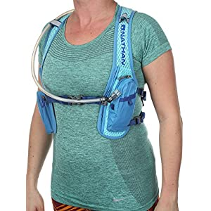 Nathan Intensity Hydration Running Vest/Backpack with Bladder, Blue Radiance, 2 L