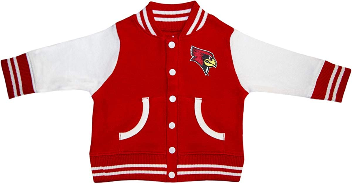 Illinois State University Reggie Redbird Varsity Jacket