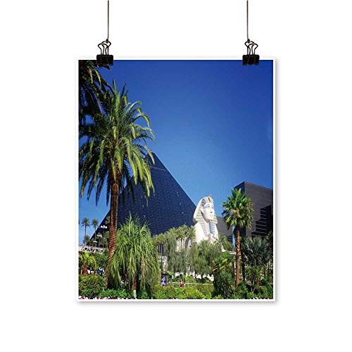 Hanging Painting Luxor Casino on Las Vegas Strip Rich in Color,24