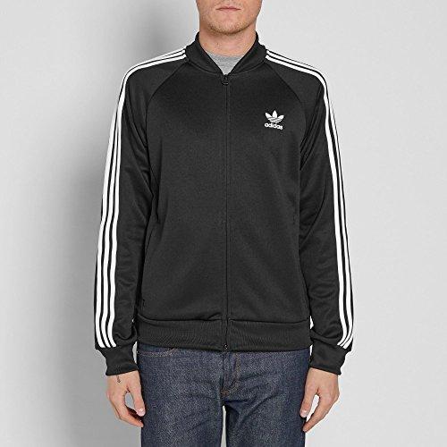 Nero Superstar Uomo Da Adidas Originals Black Giacca Bk3612 Rilassante cgv6qc