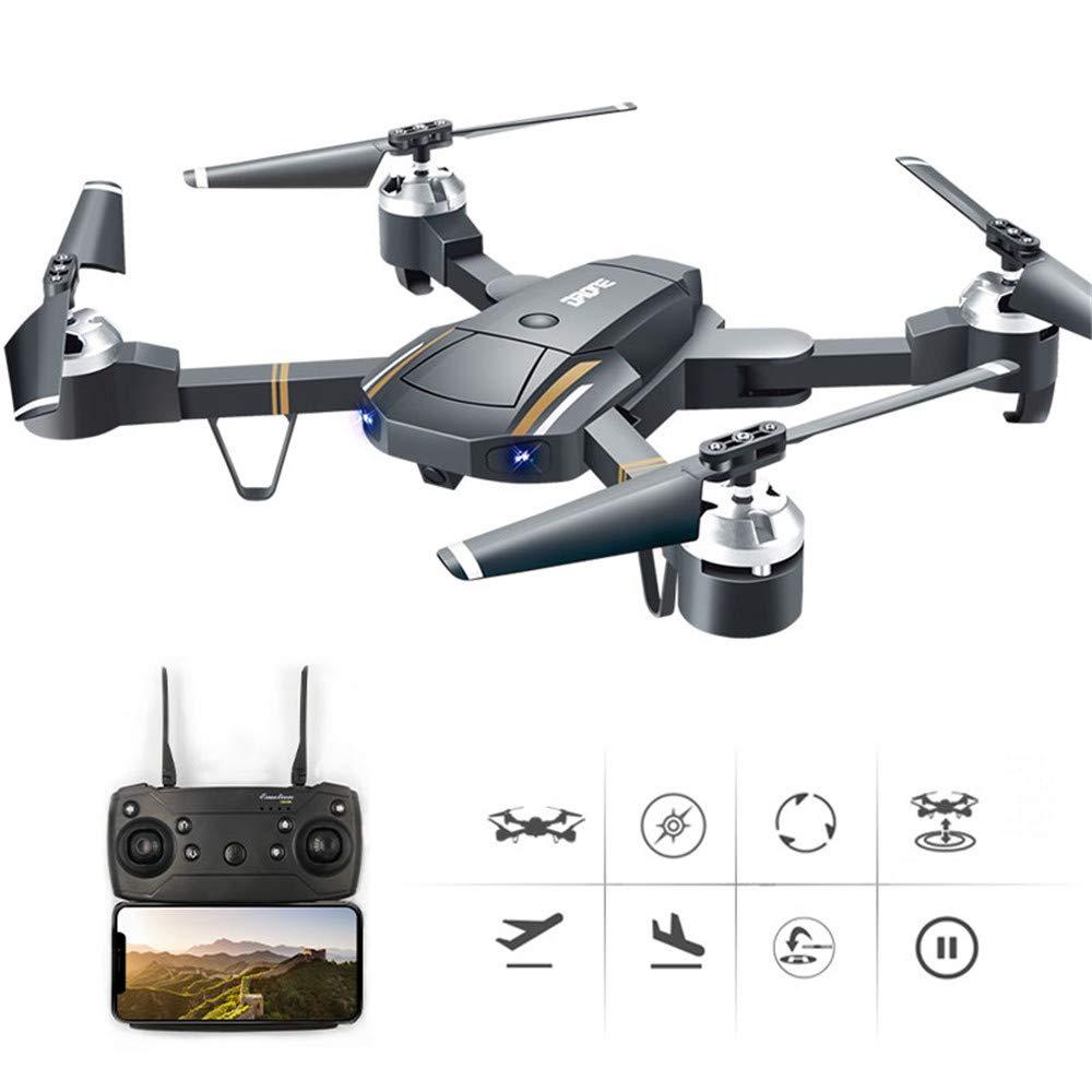 Four Drohne Drohne Drohne mit Kamera, 2,4 GHz Wi-Fi Faltdable Arms RC Drone mit Camera Gyroscope Quadcopter Altitude Hold, One Key Return Easy Operation für Kinder und Anfänger e2a8e8