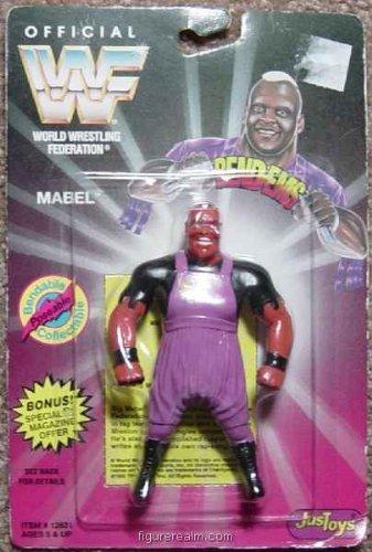(WWF / WWE Wrestling Superstars Bend-Ems Figure Series 1 Mabel)