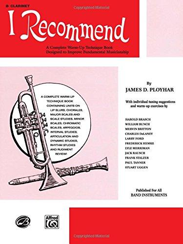 I Recommend: B-flat Clarinet