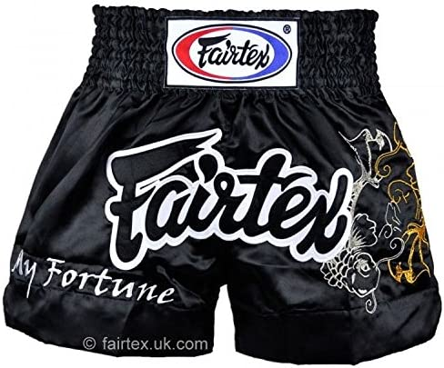 Fairtex My Fortune Black Muaythai Shorts