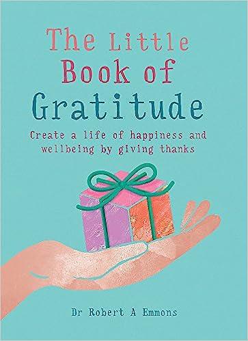 The Little Book of Gratitude book cover