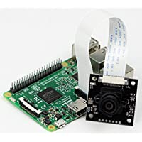 Arducam 5mp 1080p OV5647 NoIR Camera Module with M12x0.5 Mount Lens for Raspberry Pi Model A/B/B+, Pi 2 and Raspberry Pi 3