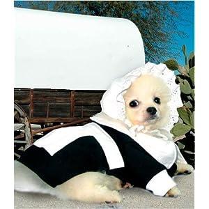 "Pilgrim Girl Costume for Dogs - Size 4 (12.5"" l x 16"" - 18.5"" g)"