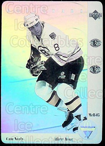 ((CI) Cam Neely Hockey Card 1991-92 McDonalds Upper Deck Hologram 5 Cam Neely)