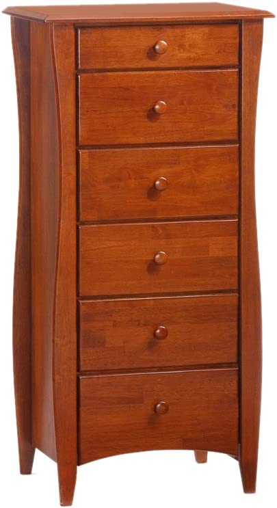 Night And Day Furniture Clove Lingerie Chest In Cherry Finish