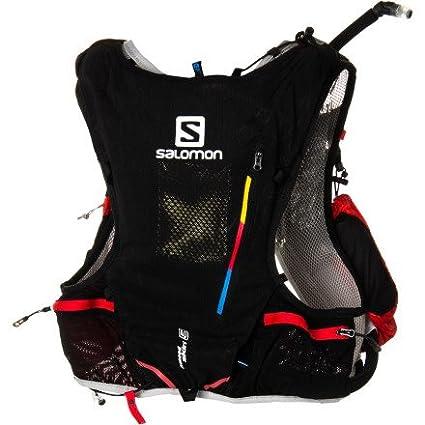 edb424917e Amazon.com : Salomon Unisex Advanced Skin S-Lab 5 Set Pack, Black, M ...