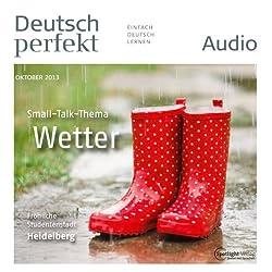 Deutsch perfekt Audio - Das Wetter. 10/2013