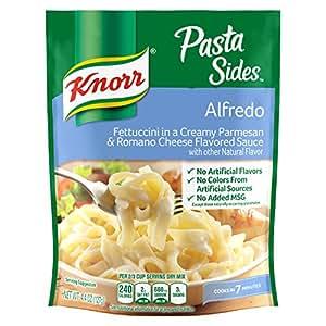 Amazon Com Knorr Pasta Side Dish Alfredo 4 4 Oz Pack