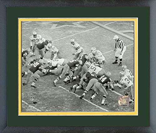 Bart Starr Green Bay Packers 1967 Ice Bowl Touchdown Action Photo (Size: 13