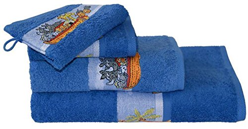 Dyckhoff bambini Baby Asciugamano in spugna asciugamano Arche 50x 100cm asciugamano